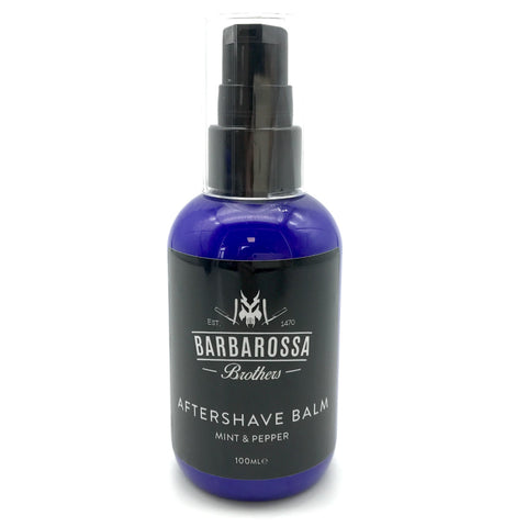 Mint & Pepper Aftershave Balm by Barbarossa Brothers