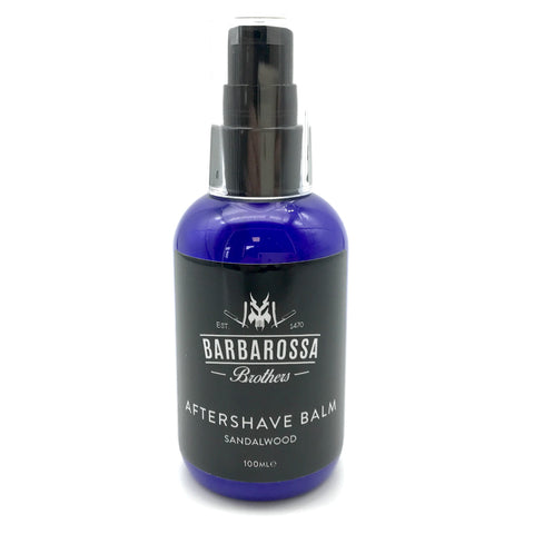 Sandalwood Aftershave Balm by Barbarossa Brothers