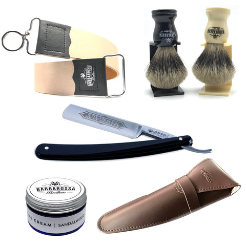 "Dovo 5/8"" Best Quality Cut Throat Razor & Accessories"