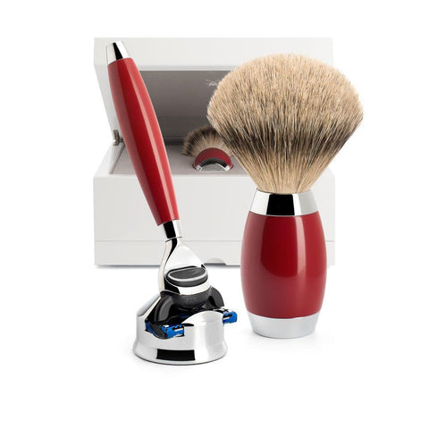 MÜHLE Edition No.2 Chinese Lacquer Shaving Set