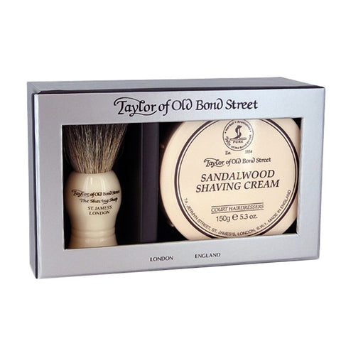 Taylor of Old Bond Gift Set Sandalwood