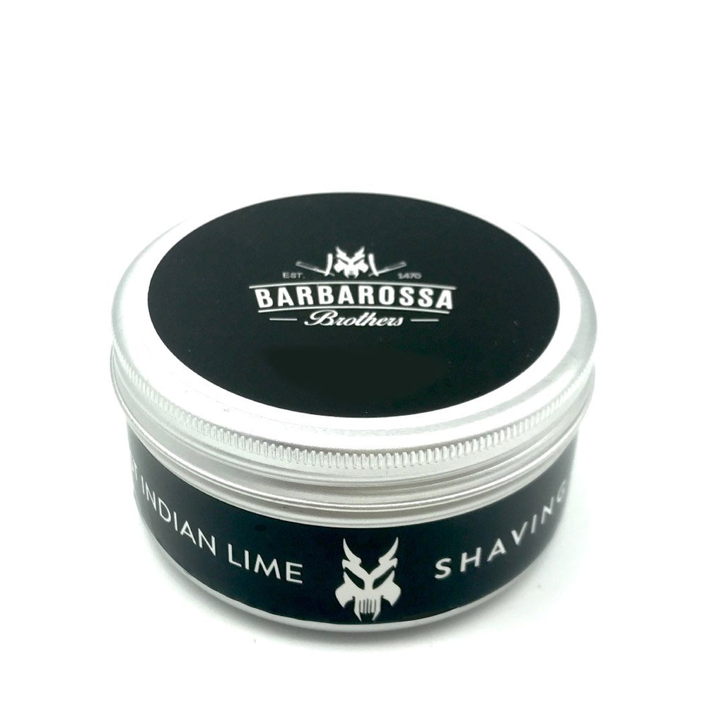 Barbarossa Brothers West Indian Lime & Black Pepper Shaving Cream