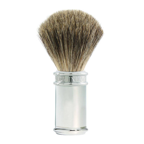 Badger Brush - Edwin Jagger Chrome Pure Badger Shaving Brush (81SB8911)