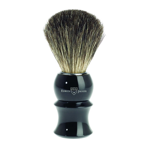 Badger Brush - Edwin Jagger Pure Badger Ebony Shaving Brush