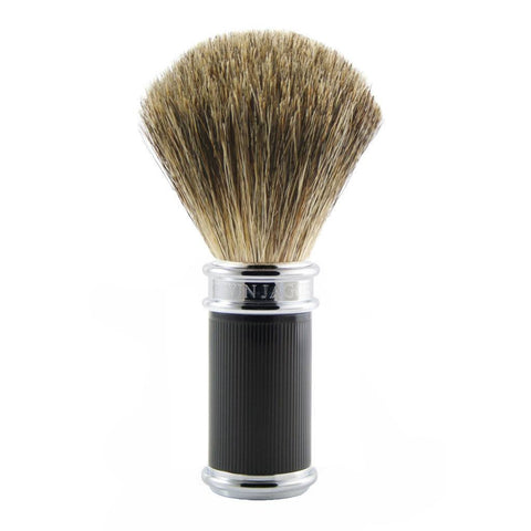 Badger Brush - Edwin Jagger Rubber Coated DE86 Badger Brush (81SB86RC15)