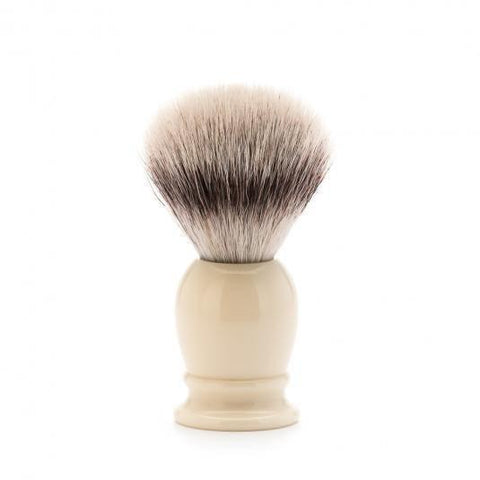 Badger Brush - MÜHLE Classic 'Silvertip' Fibre Ivory Small Shaving Brush 39K257