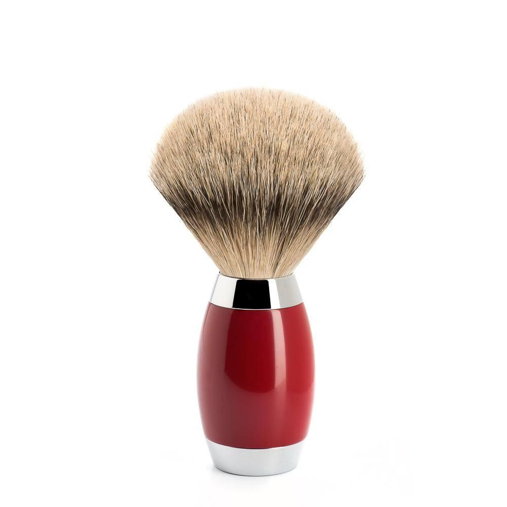 Badger Brush - Mühle Edition No.2 Chinese Lacquer Silvertip Shaving Brush 493ED2