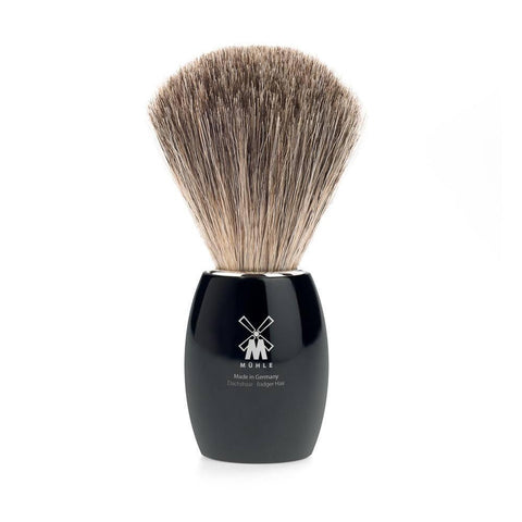 Badger Brush - MÜHLE Pure Badger Brush Black 81K3