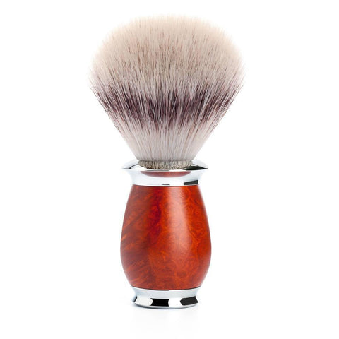 Badger Brush - Mühle Purist Silvertip Fibre Shaving Brush With Briar Wood 31H59