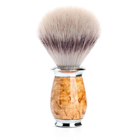 Badger Brush - Mühle Purist Silvertip Fibre Shaving Brush With Karelian Masur Birch Wood 31H55