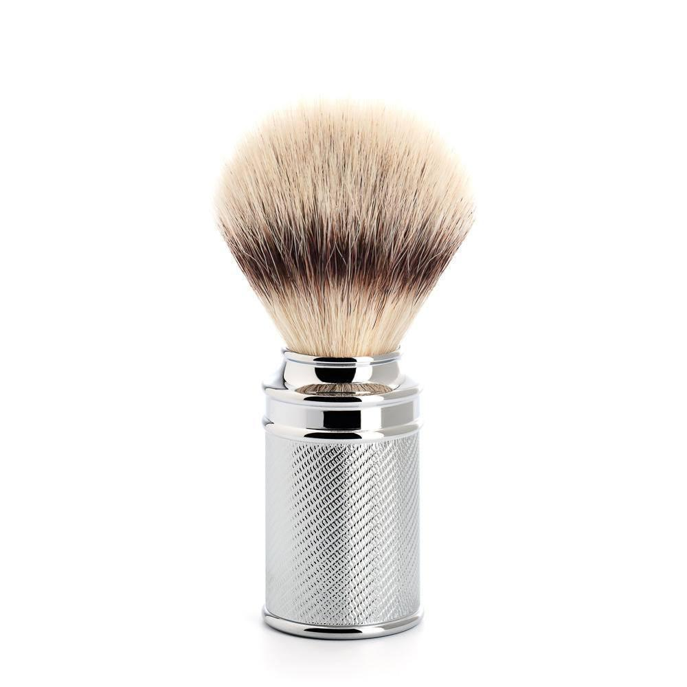 Badger Brush - MÜHLE Traditional 'Silvertip' Fibre Chrome Shaving Brush 31M89