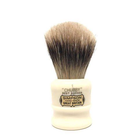 Badger Brush - Simpsons Chubby 1 Shaving Brush 85mm