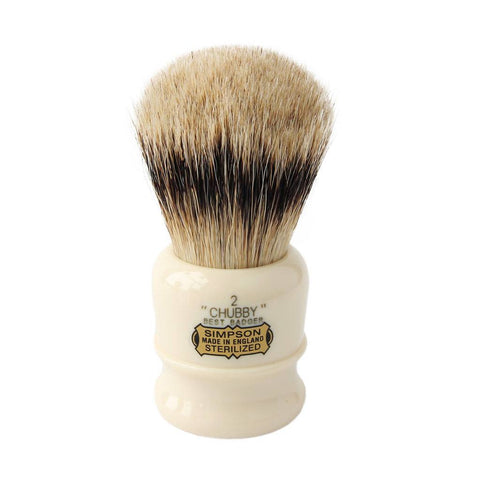 Badger Brush - Simpsons Chubby 2 Shaving Brush CH2