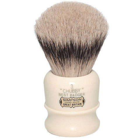 Badger Brush - Simpsons Chubby 3 Shaving Brush CH3
