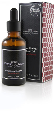 Beard Oil - Edwin Jagger Conditioning Beard Oil Sandalwood