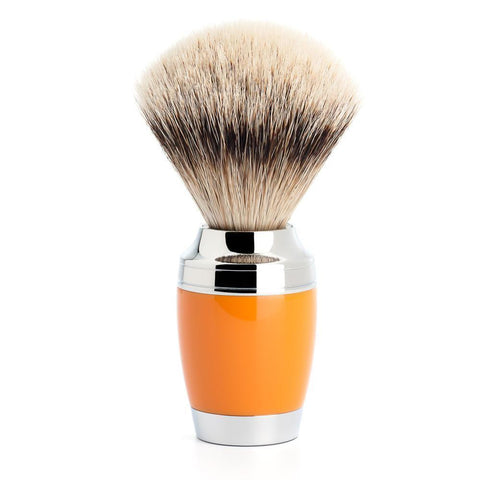 Muhle STYLO, Butterscotch Silvertip Badger Shaving Brush