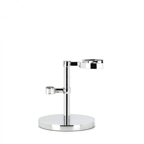 Muhle Chrome HEXAGON Shaving Brush & Razor Stand RHM HXG