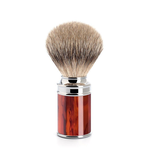 Mühle TRADITIONAL Tortoiseshell (Faux)  Silvertip Badger Shaving Brush 091M108