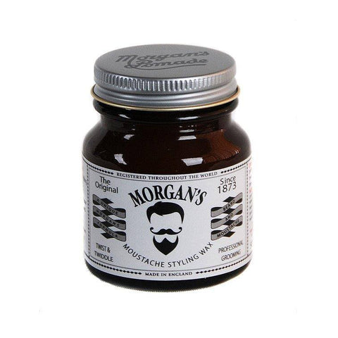 Moustache Wax - Morgan's Twist And Twiddle Moustache Styling Wax 50g