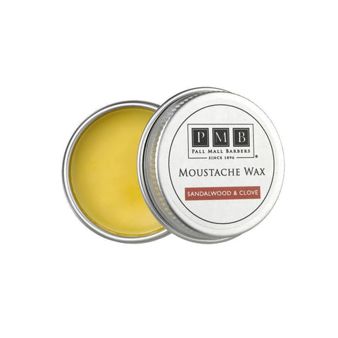 Moustache Wax - Pall Mall Barbers Moustache Wax 15ml