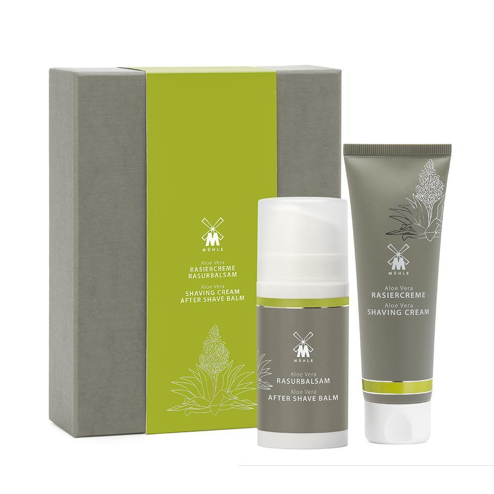 Muhle Aloe Vera Set - Incl. Shaving Cream & Aftershave
