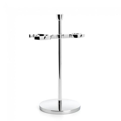 Muhle Chrome Shaving Stand Brush and Razor RHM14