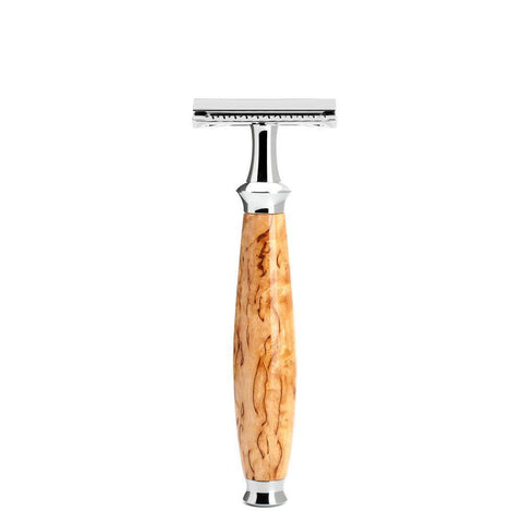 MÜHLE Purist Karelian Masur Birch Safety Razor R55SR