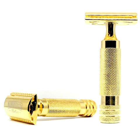 Razor - Barbarossa Brothers - Ottoman Double Edge Razor - 24k Gold