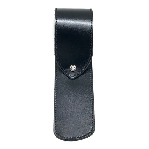 Razor Case - Dovo Black Leather Razor Case