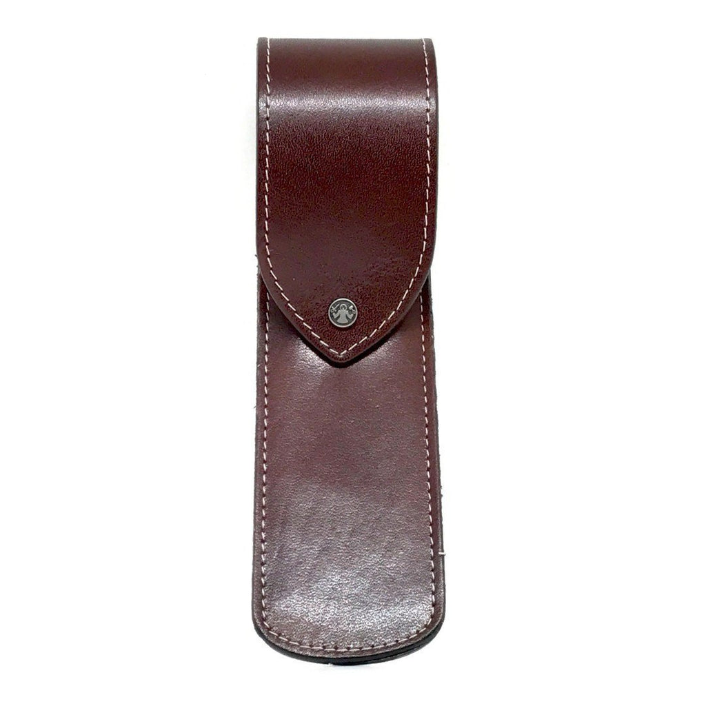 Razor Case - Dovo Brown Leather Razor Case