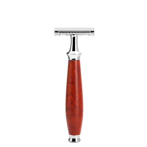 Razor - MÜHLE Purist Briar Wood Safety Razor