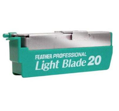 Shavette Razor Blades - Feather Artist Club Pro Light Blades PL20