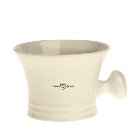 Shaving Bowl - Edwin Jagger Ivory Porcelain Shaving Soap Bowl