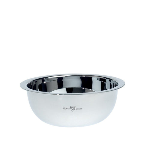 Shaving Bowl - Edwin Jagger Polished Stainless Steel Shaving Soap Bowl