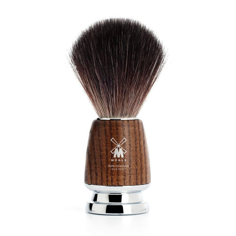 Shaving Brush - Mühle Rytmo Black Fibre Ash Shaving Brush 21H220