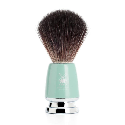 Shaving Brush - Mühle Rytmo Black Fibre Mint Resin Shaving Brush 21M224