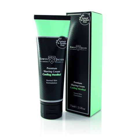 Shaving Cream - Edwin Jagger Premium Shaving Cream Cooling Menthol 75ml