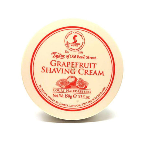 Shaving Cream - Taylor Of Old Bond Street Grapefruit Shaving Cream 150g