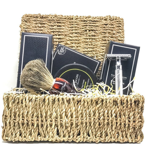 Shaving Set - Edwin Jagger Safety Razor Christmas Hamper