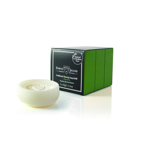 Shaving Soap - Edwin Jagger Shaving Soap With Aloe Vera X 3