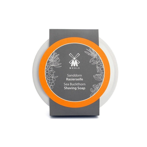 Shaving Soap - MÜHLE Sea Buckthorn Shaving Soap In Bowl