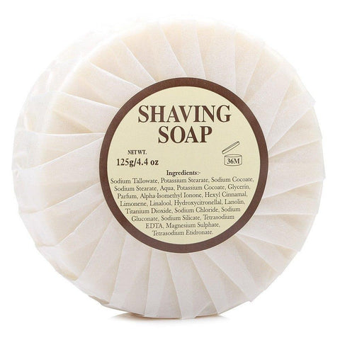 Shaving Soap - Mitchell's Original Wool Fat Shaving Soap Refill 125g