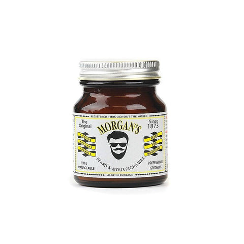 Wax - Morgan's Beard And Moustache Styling Wax