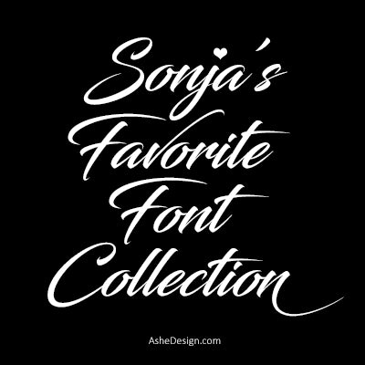 Sonja's Favorite Fonts
