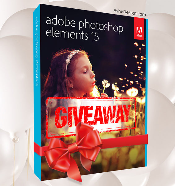 Adobe Photoshop Elements 15 Giveaway