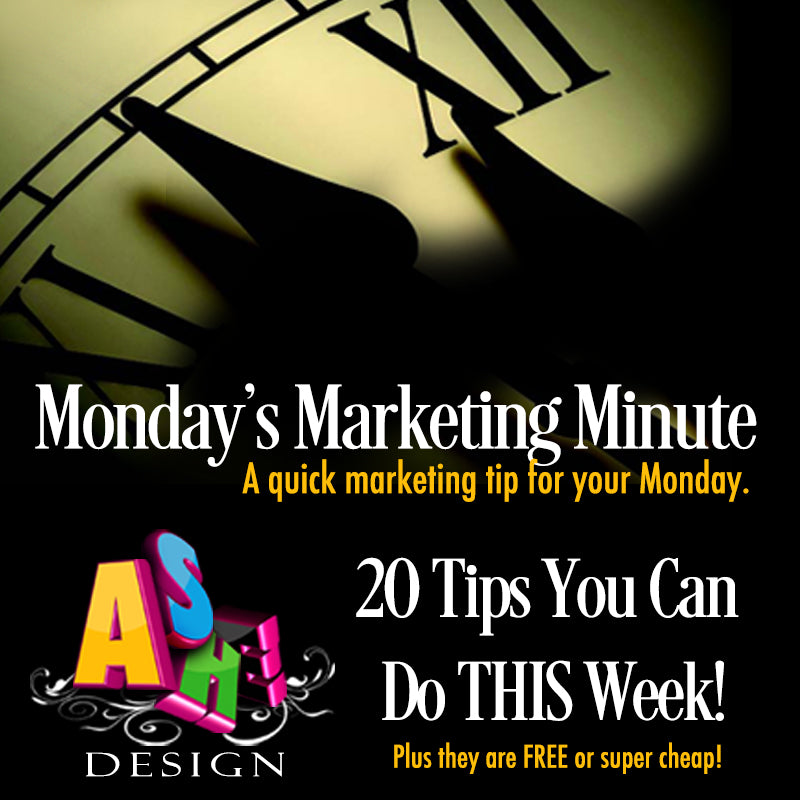 20 Marketing Tips