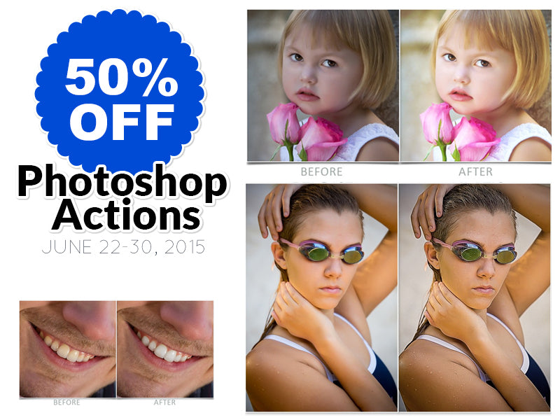 50% OFF All Photoshop Actions