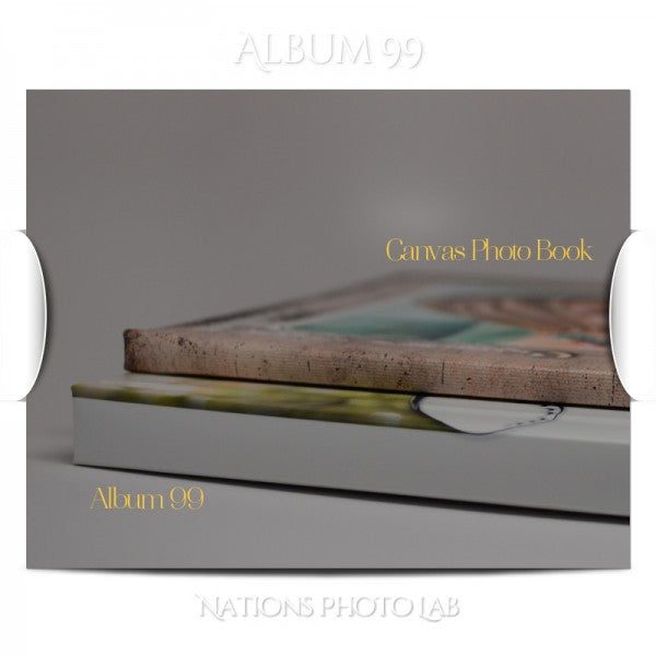 Compare Album 99 with Canvas Photo Book