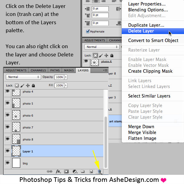 Delete-Layers-in-Photoshop