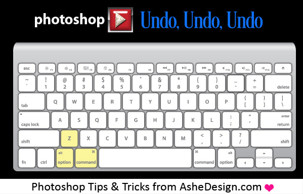 Repeated Undo Action in Photoshop